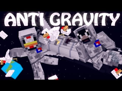 Minecraft | ANTI GRAVITY MOD Showcase! (Star Miner Mod, Gravity Mod, Space Mod)