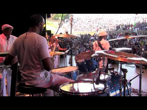 Saturday Love - Alexander O'Neal & Cherelle LIVE Concert Drumming