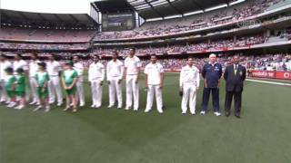 National Anthem @ the Boxing Day Test - MCG 2011 - Australia v India