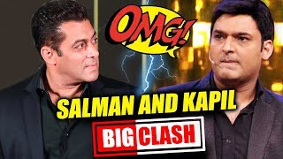 Salman Khan And Kapil Sharma BIG CLASH On Television