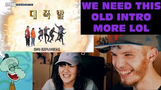 BIGBANG WEEKLY IDOL PART 1 (COUPLE REACTION!)   THE OLD INTR…