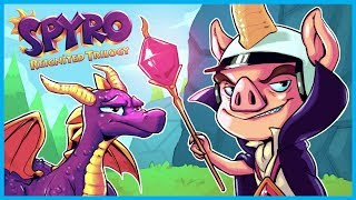 RELIVING MY CHILDHOOD!! SPYRO REIGNITED TRILOGY - EP. 1 (Spyro The Dragon Remastered)