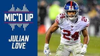 Julian Love mic'd up | Giants vs. Jets highlights