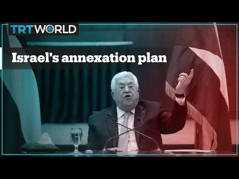 What does Israeli annexation of the West Bank mean?