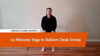 Seated Yoga to Relieve Desk Stress