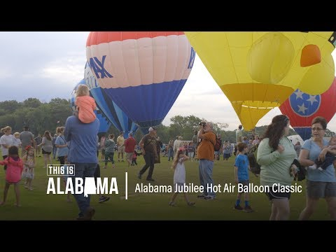 Alabama Jubilee Hot Air Balloon Festival | This is Alabama