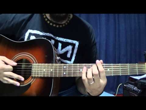 The Wanderer: Tutorial (Guitar Lesson)