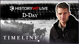 Dan Snow And James Holland Talk D-day | History Hit Live On Timeline #stayhome #withme