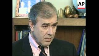 USA: CHIEF UN WEAPONS INSPECTOR RICHARD BUTLER INTERVIEW