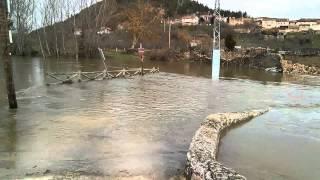 Crecida Río Nela 16-02-2015