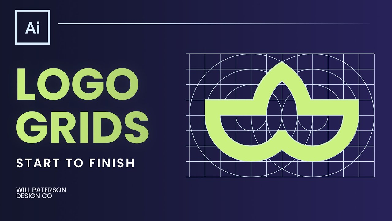 How To Design A Logo Using The Grid Method
