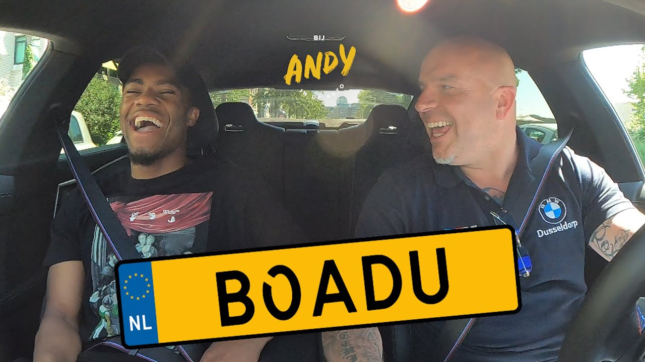 Myron Boadu – Bij Andy in de auto!