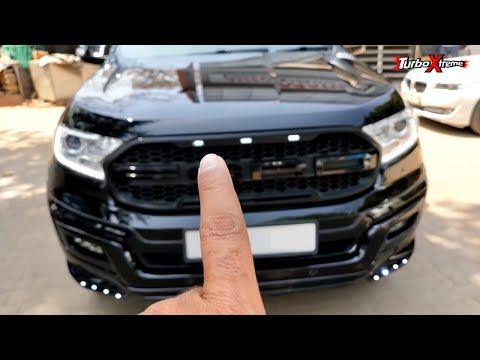 Ford Endeavor Black Edition 2019 Youtube