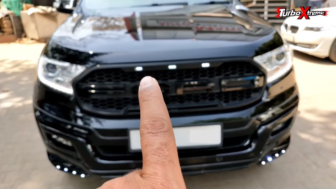 The Ford Endeavour Black Edition is a CLASSY & subtle mod job