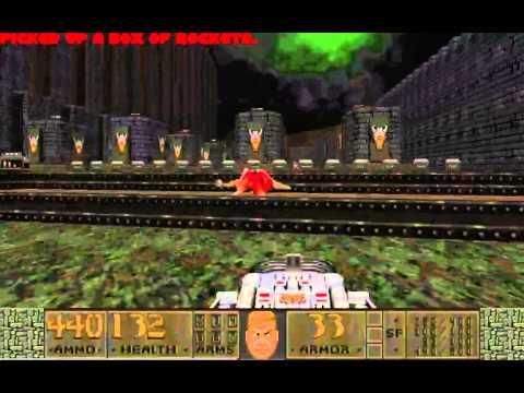 [Doom II] Slaughterfest 2012 Map 28 - Slaughtenstein UV Max in 1:27:32