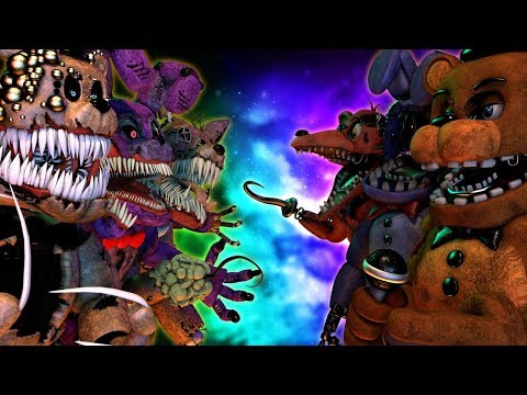 Top 10: Best Five Nights At Freddy's FIGHT Animations 2021 (KILL FNAF VS Animations)