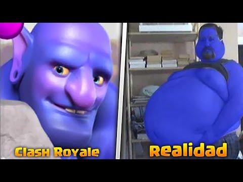 ¡CLASH ROYALE VS VIDA REAL! CARTAS, TROPAS HECHIZOS en la REALIDAD [Fernando CoC]