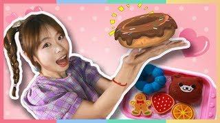 朱莉的新店开张!让人信心倍增的魔法面包店玩具游戏   凯利和玩具朋友们   凯利TV