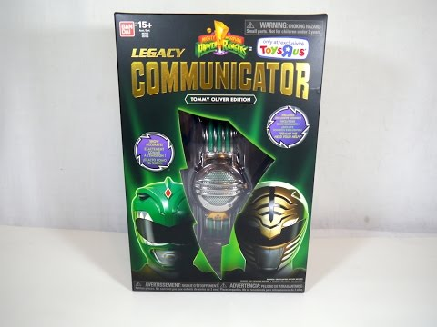 Legacy Communicator (Tommy Oliver Edition) Review | Mighty Morphin Power Rangers