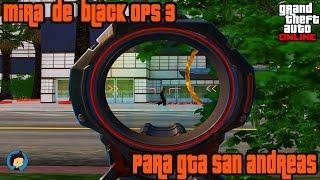 MIRA DE SNIPER BO3 PARA GTA SA-MP