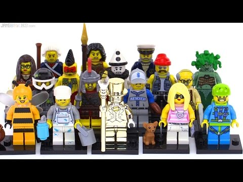 LEGO Series 10 Collectible Minifigures From 2013!