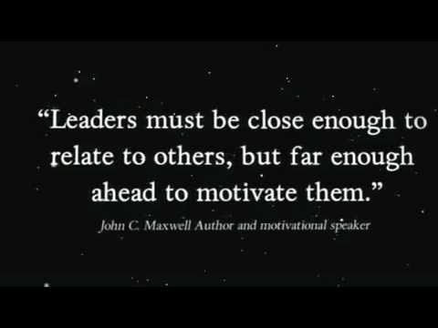 Are You a Leader -Motivating