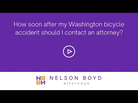 WA Bicycle Accident   Contacting Attorney   Personal Injury Law   Seattle