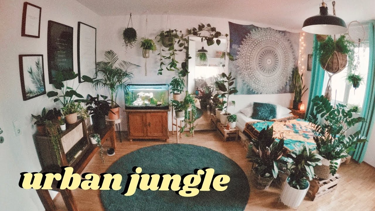 Urban Jungle Room Makeover Timelapse Youtube