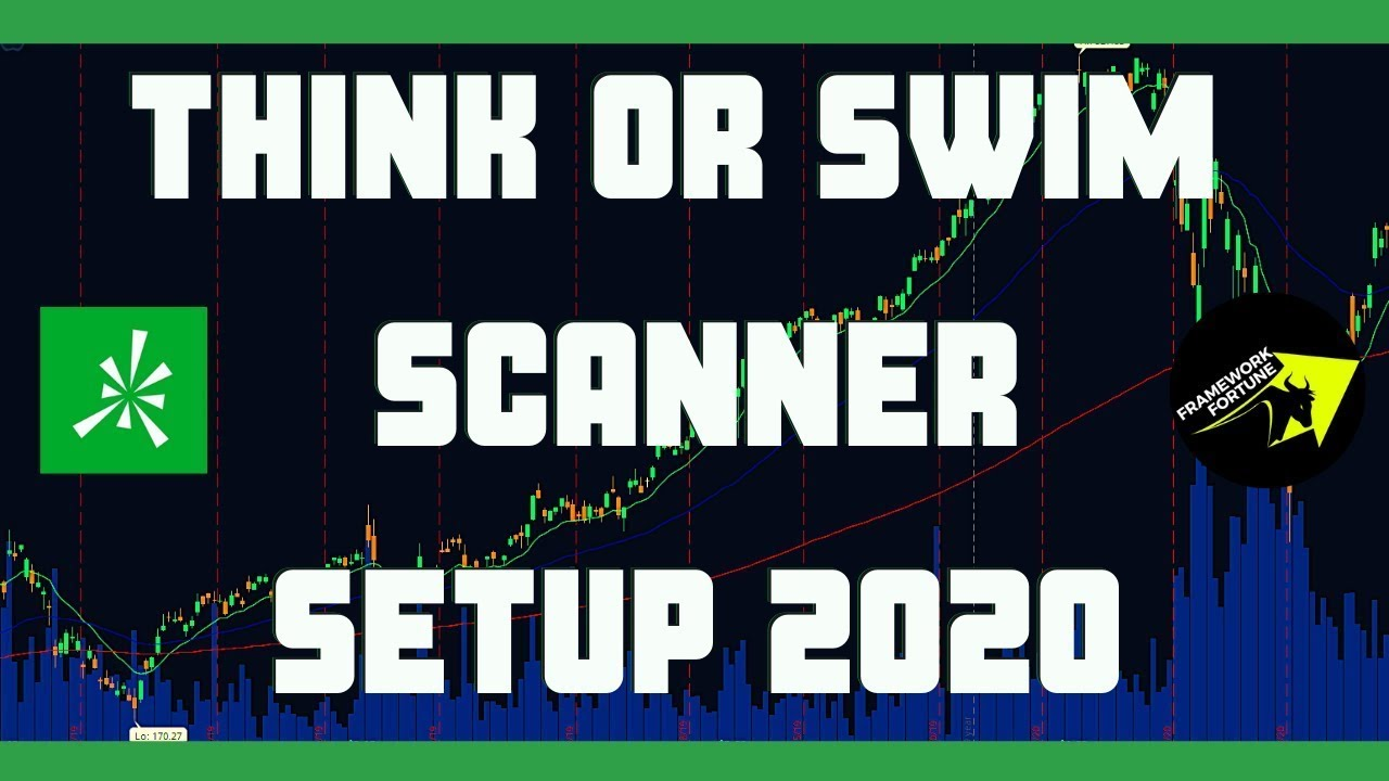how to setup think or swim scanner for daytrading 2020 best think or swim scanner