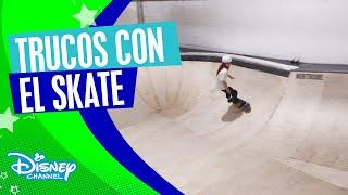 Disney Channel Skate Tour: Las partes de un skatepark | Disney Channel Oficial