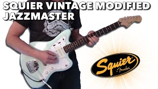 Squier Vintage Modified Jazzmaster demo/review