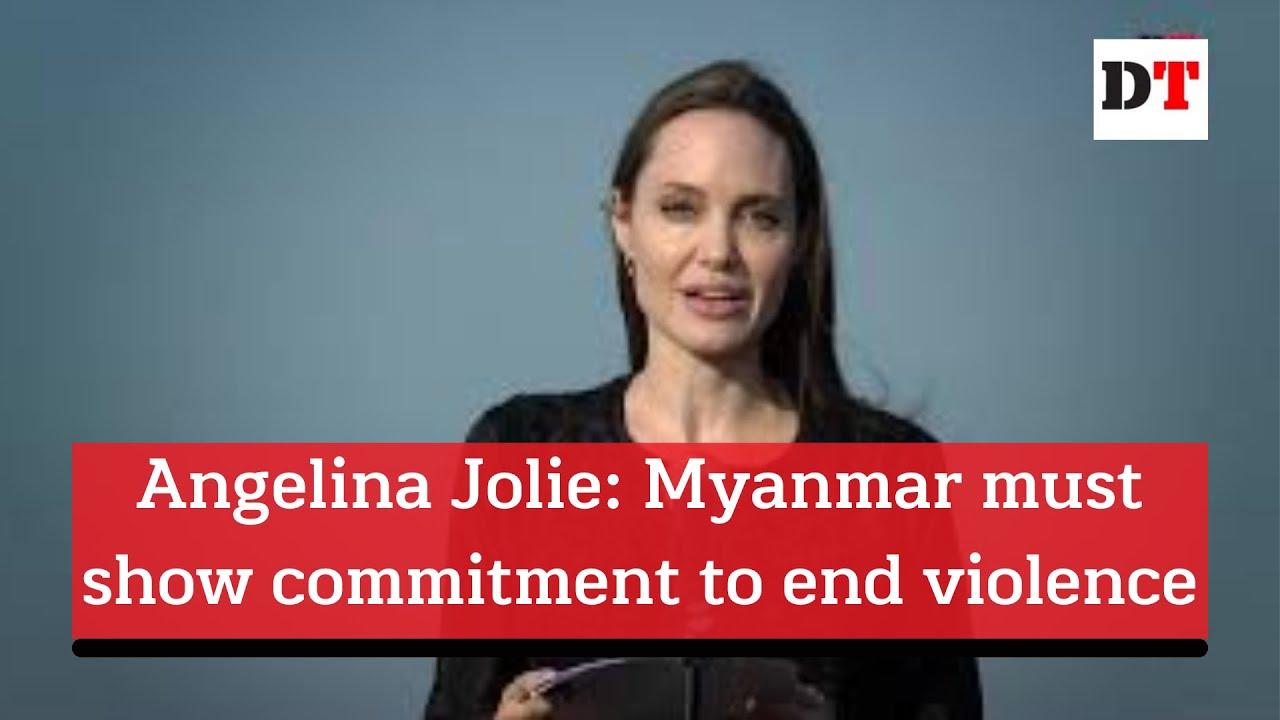 Dengan Emosional, Angelina Jolie Sampaikan Penderitaan Rohingya yang Diperlakukan Bak Sapi