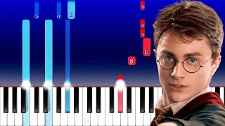 Harry Potter Theme Song (Piano Tutorial)