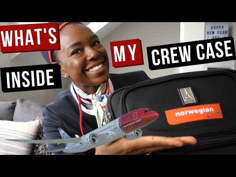 WHAT'S IN MY CABIN CREW BAG? | (2018) REENIE