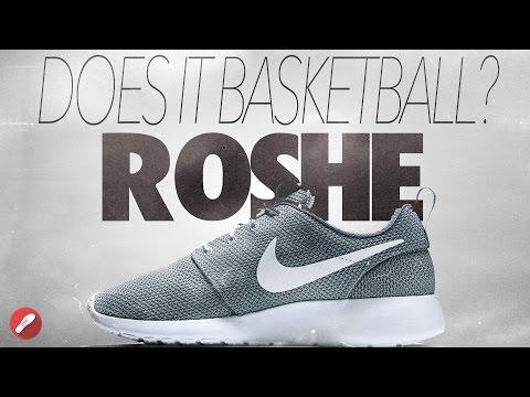 Does It Basketball? Nike ROSHE!