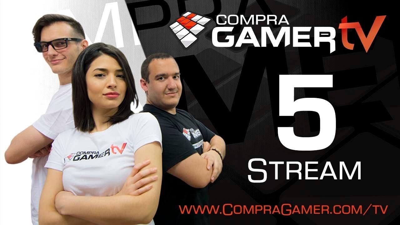 Download Transmision en directo 5to streaming CompraGamerTV