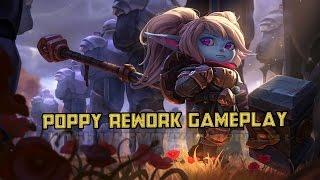 Battle Regalia Poppy- Full Gameplay- League of Legends