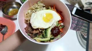 ДВА РАЗНЫХ БЛЮДА. Что из корейской еды можно легко приготовить? Бибимпаб и роллы с тунцом