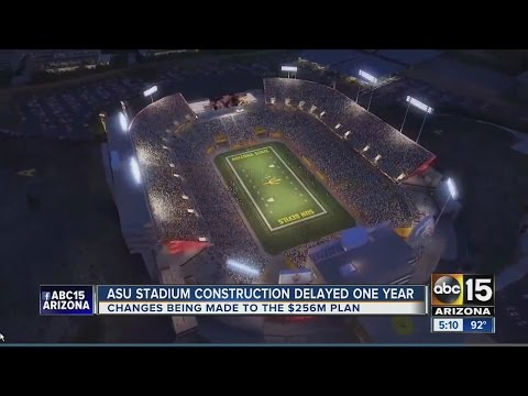 ASU postponing quarter billion dollar renovation to Sun Devil Stadium