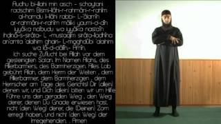 """Das Gebet heißt auf arabisch """"Salah und ist gleich nach der Schahad..."""