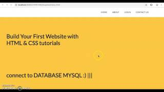 #10HOW TO CONNECT MYSQL TO HTML FORM || register form