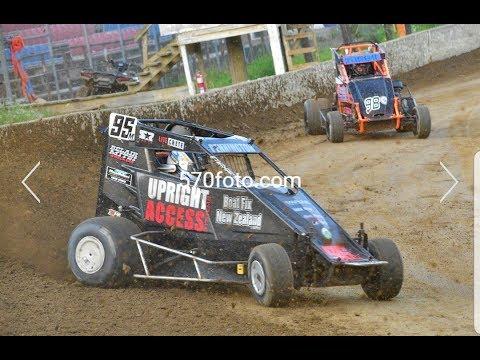Running Wingless at Bridgeport Speedway