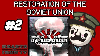 HOI4 NEW MOD! Let's look at: HoI4 mod The New Order: Last Days of Europe! #2