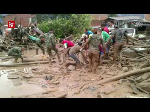 154 dead in Columbia's landslide