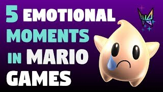 5 Sad and Emotional Moments in Mario Games