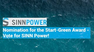 SINN Power is nominated for the Start-Green Award 2019!