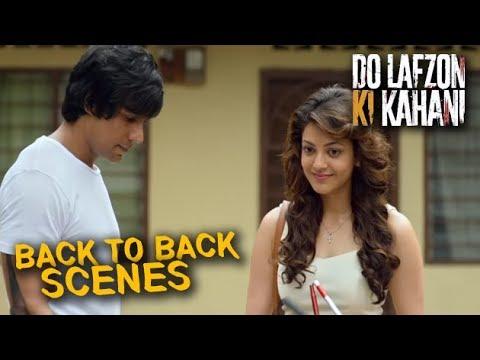 Do Lafzon Ki Kahani | Back to Back Hindi Movie Scenes | Randeep Hooda, Kajal Aggarwal | Part 2