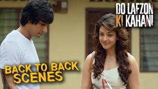 Do Lafzon Ki Kahani | Back to Back Hindi Movie Scenes | Randeep Hooda, Kajal Aggarwal | Part 2