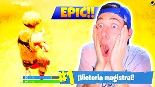 No VAIS a VER FINAL MÁS ÉPICO! *INCREÍBLE* FORTNITE Battle Royale