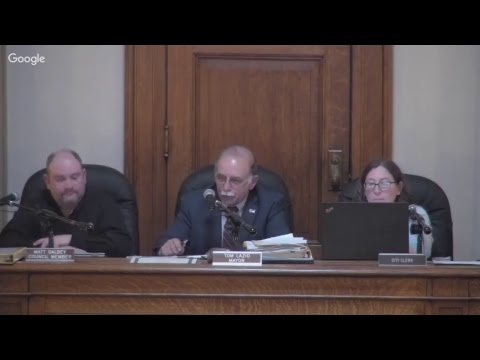 Ottumwa City Council - January 22nd  2019 - Regular Meeting